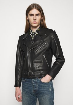 The Kooples - JACKET - Kurtka skórzana - black