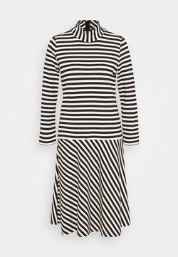 InWear - HUBERTIW DRESS - Freizeitkleid - black / french nougat