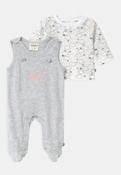 Jacky Baby - WELCOME UNISEX - Pyjama - grey/white