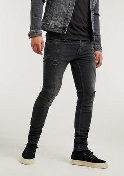 CHASIN' - EGO COLOMBO - Jeans Slim Fit - black