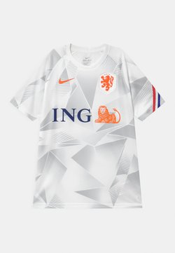 Nike Performance - NIEDERLANDE UNISEX - Voetbalshirt - Land - white/safety orange