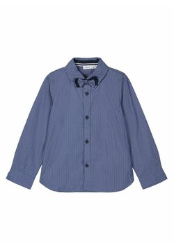 Name it - GEMUSTERTES - Camisa - dark sapphire