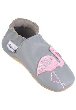 KINDSGUT - Lauflernschuh - grey/ pink