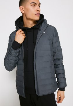 adidas Performance - VARILITE SOFT HOODED - Daunenjacke - carbon