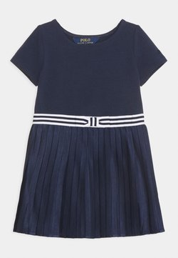 Polo Ralph Lauren - PLEATED DRESSES - Jerseykleid - french navy