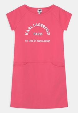 KARL LAGERFELD - Jerseykleid - rasberry