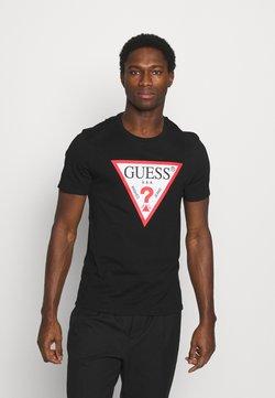 Guess - ORIGINAL LOGO - T-shirt imprimé - jet black