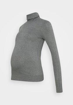 Anna Field MAMA - Strickpullover - grey