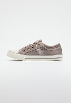 s.Oliver - LACE UP - Sneakers basse - light grey