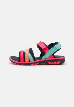 Kappa - UNISEX - Sandały trekkingowe - navy/pink