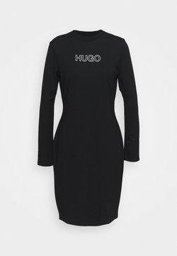 HUGO - DASSY - Vestido ligero - black