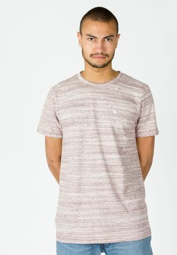 Wemoto - WARREN MEL - T-Shirt print - red