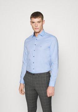 Calvin Klein Tailored - CONTRAST PRINT SLIM SHIRT - Zakelijk overhemd - blue
