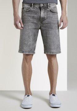 TOM TAILOR DENIM - Jeans Shorts - used light stone grey denim