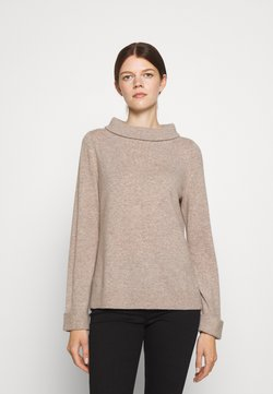 Repeat - SWEATER - Stickad tröja - multibeige