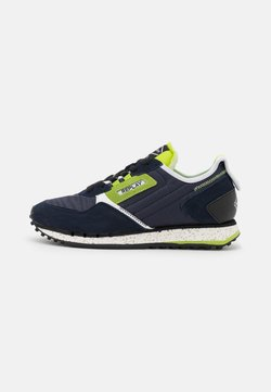 Replay - DRUM ROAD  - Trainers - navy/lime