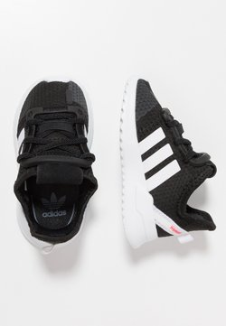 adidas Originals - PATH RUN  - Baskets basses - clear black/footwear white/shock red