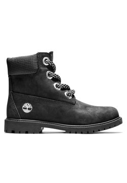 Timberland - 6IN CONVENIENCE LACE BOOT - Schnürstiefelette - black nubuck