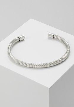 Burton Menswear London - TWIST CUFF - Bracelet - silver-coloured