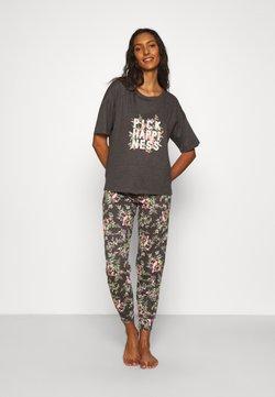 Marks & Spencer London - HAPPINESS - Pyjama - charcoal