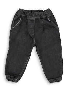 Esprit - FASHION - Straight leg jeans - dark grey washed