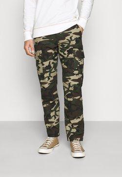 Dickies - EDWARDSPORT - Pantalon cargo - olive/beige