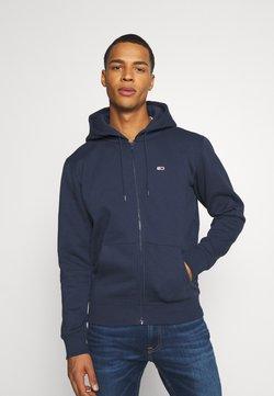 Tommy Jeans - REGULAR ZIP HOOD - veste en sweat zippée - twilight navy