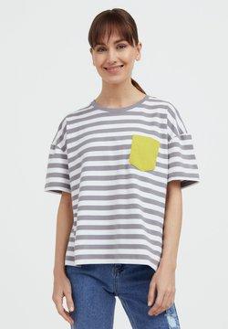 Finn Flare - T-Shirt print - grey
