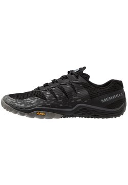 Merrell - TRAIL GLOVE 5 - Obuwie do biegania Szlak - black/gray