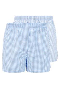 BOSS - BOXER 2PACK - Boxershorts - open blue