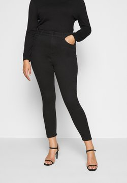 New Look Curves - Skinny-Farkut - black