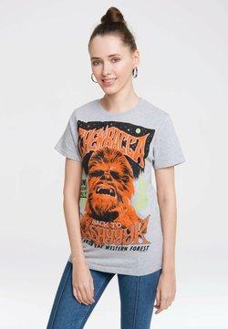 LOGOSHIRT - STAR WARS - T-Shirt print - grau-meliert