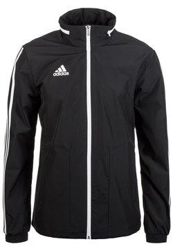adidas Performance - TIRO 19 - Regenjacke / wasserabweisende Jacke - black / white