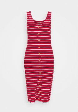 ONLY Tall - ONLNELLA BODYCON DRESS - Freizeitkleid - high risk red/cloud dancer/night sky