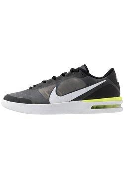 Nike Performance - COURT AIR MAX VAPOR WING MS - Tennisschoenen voor alle ondergronden - black/white/volt