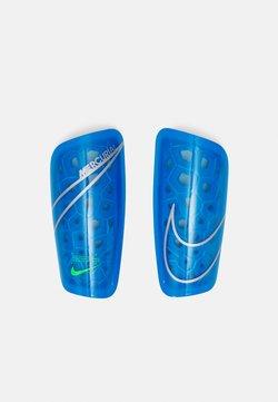 Nike Performance - MERCURIAL LITE - Scheenbeschermers - photo blue/rage green/silver