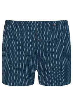 Mey - UNTERHOSE GEPUNKTET - Boxershorts - blue