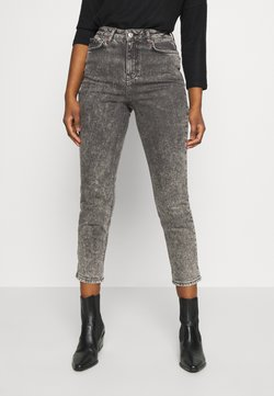 New Look Petite - ACID MOM SANT - Slim fit jeans - dark grey