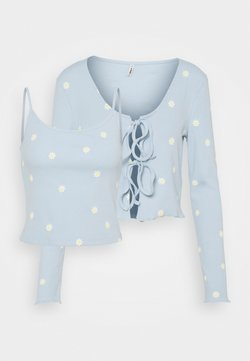 ONLY - ONLFENJA LIFE SET - Top - cashmere blue