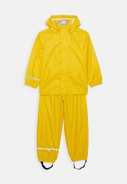 Name it - NKNDRY RAIN SET - Regnbyxor - empire yellow