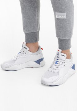 Puma - RS-X MASTER - Sneakers laag - white-palace blue