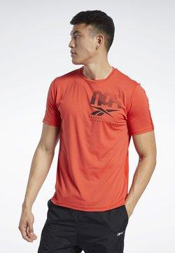Reebok - ACTIVCHILL GRAPHIC MOVE T-SHIRT - T-Shirt print - insred