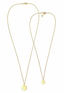 Elli - PLATE HEART - Halsband - gold