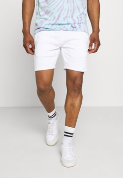 Calvin Klein Jeans - PRIDE GRAPHIC UNISEX - Shorts - bright white