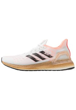 adidas Performance - ULTRABOOST - Laufschuh Neutral - footwear white/core black/signal pink