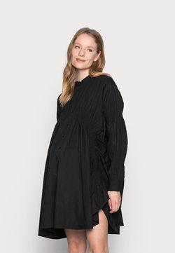 Pieces Maternity - PCMSASSY OVERSIZED DRESS - Sukienka koszulowa - black
