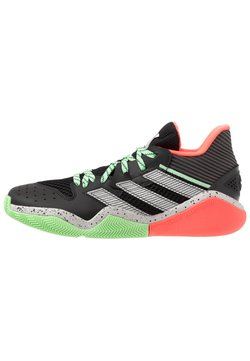 adidas Performance - HARDEN STEPBACK - Basketbalschoenen - core black/grey two/glow mint