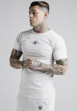 SIKSILK - UNITE GYM TEE - T-Shirt basic - grey marl