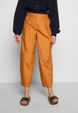 YAS Petite - YASBIRCH CROPPED PANT - Pantalones - hazel
