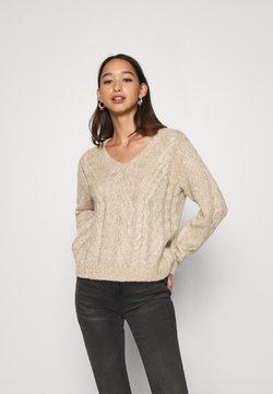 YAS - YASTIRA - Sweter - tawny brown